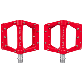 Cube RFR Flat Race Pedale red